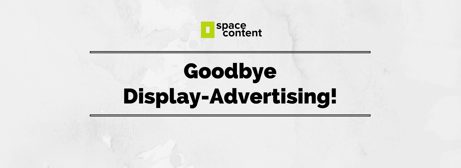 Update Display Ads